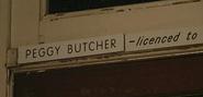Peggy Butcher Plaque