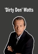 Dirty Den Cast Card