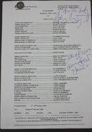 EastEnders Script Episode 5020 (Rehearsal)