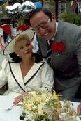 Pat Wicks and Frank Butcher Wedding (22 June 1989)