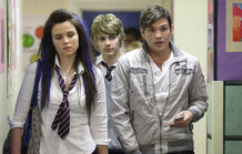 Walford High School Zsa Zsa, Peter and Leon