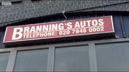 Branning's Autos Sign