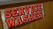Launderette Service Wash Sign 2