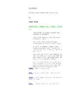 EastEnders Script Episode 3111 (Draft)