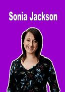 Sonia Jackson - Name Card