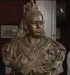 Queen Vic Bust