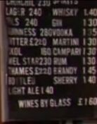 Queen Vic Old Price List