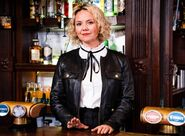 Janine Behind the Bar