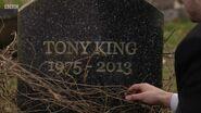 Tony King Gravestone (10 December 2019)