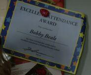 Bobby Beal Attendance Award