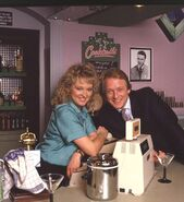 Kathy Beale and James Wilmott-Brown