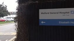 Walford General Hospital Sign (18 March 2008)