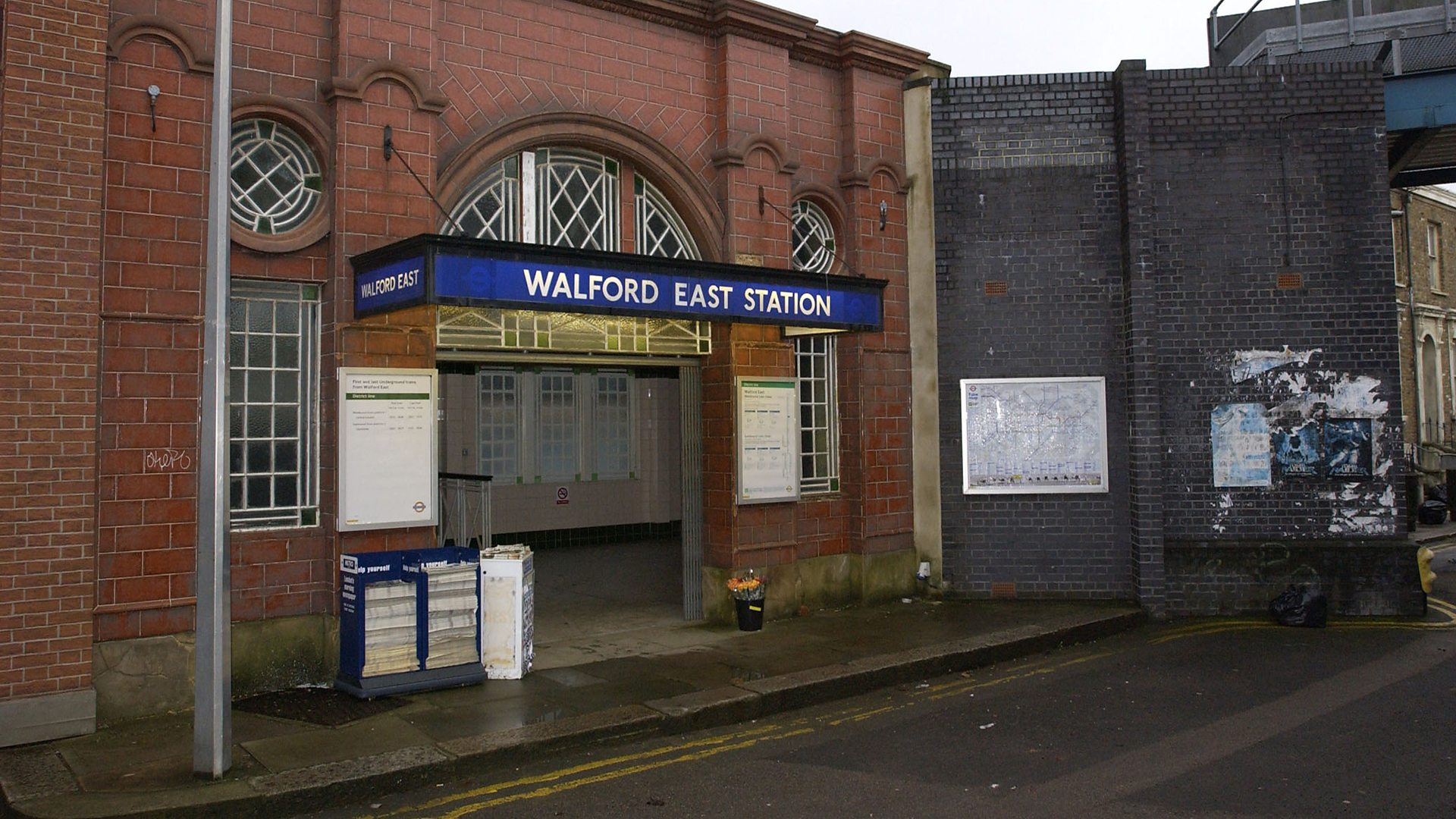 Walford East Tube Station