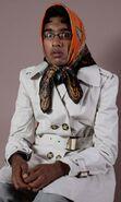 Tamwar dress up as Dot (2009)