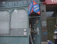 11 Turpin Road - vacant Fish Bar (20 July 1989)