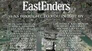 EastEnders 2007 End of Year Credits (30 December 2007)