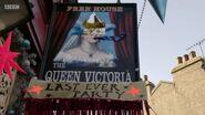 Queen Vic Sign (29 December 2017)
