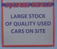 Square Dealz Sign (6 March 2020)