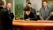 Nick Cotton fake funeral