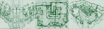 Queen Vic Floor Plans (Inside Soap)
