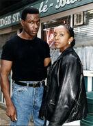 Alan Jackson and Frankie Pierre