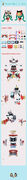 Hatsune Miku Lion Dance Perler Bead