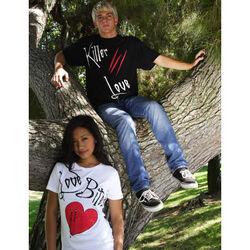 Vampire Romance T-Shirts created by Allee Marderosian