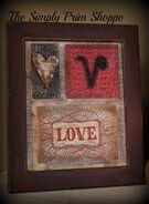Valentine Love Mix Media 1