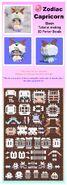 EBOOK making&installing 3D hama beads Horoscope Capricorn
