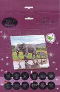 Crystal Art DIY Elephant card kit