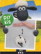 Diy kit yo yo shaun the sheep