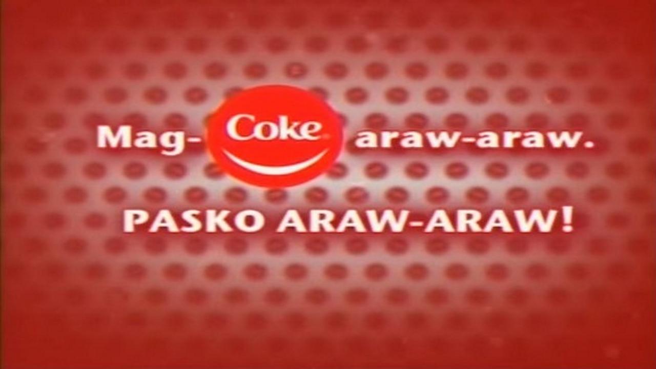 Mag-Coke Araw-Araw. Pasko Araw-Araw!