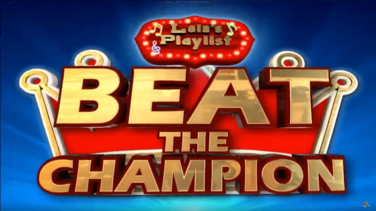 Lola's Playlist: Beat the Champion