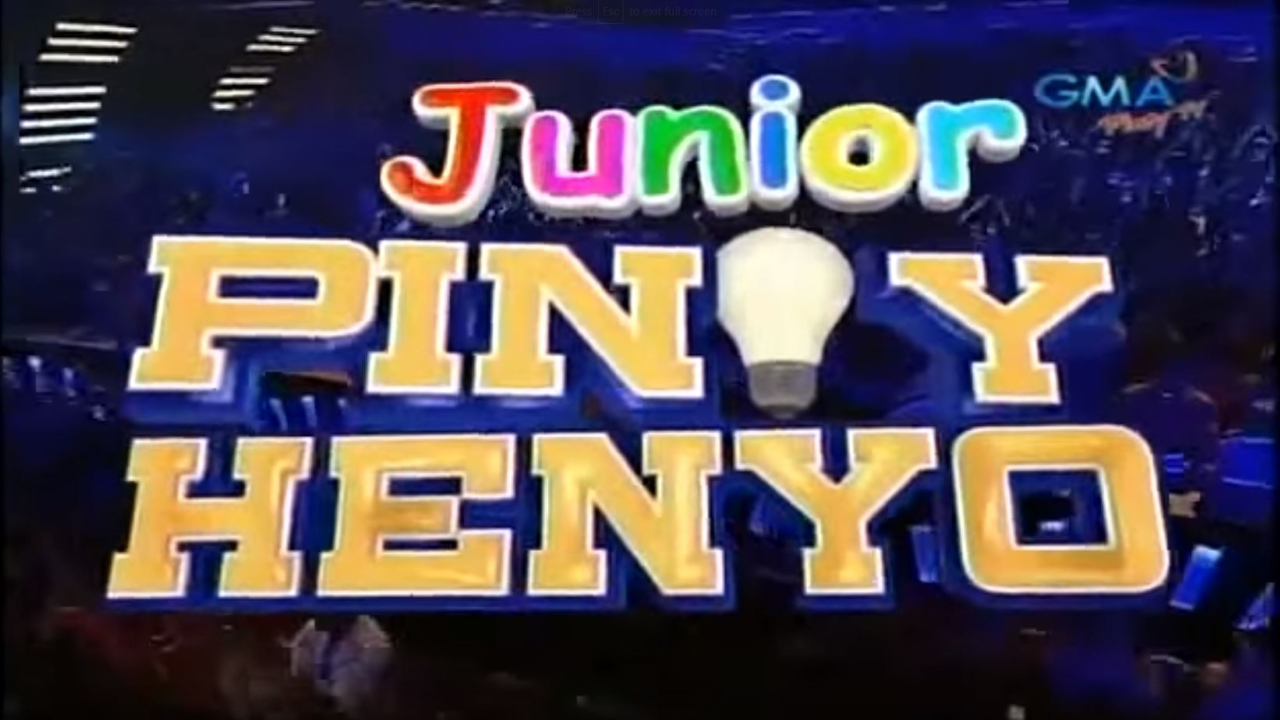 Junior Pinoy Henyo (2013–2014)
