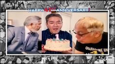 Tito, Vic, and Joey virtually blow a candle to celebrate the show's 41st anniversary