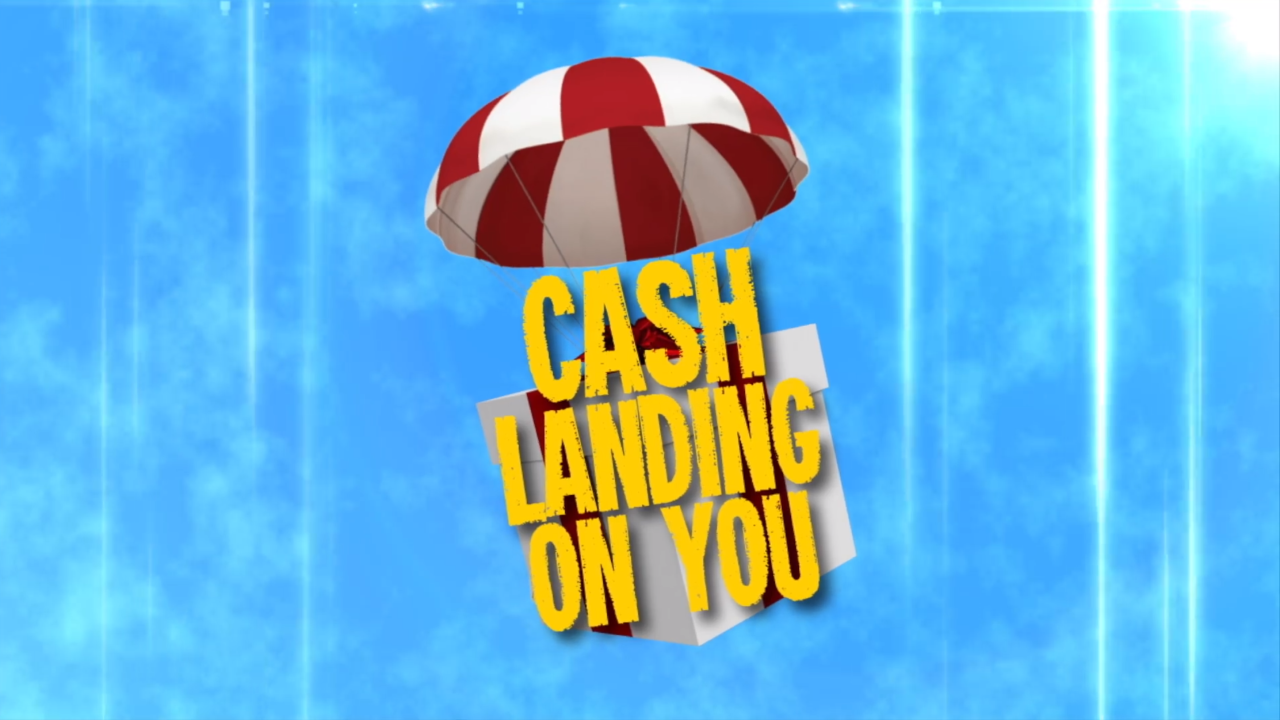 Cash Landing On You
