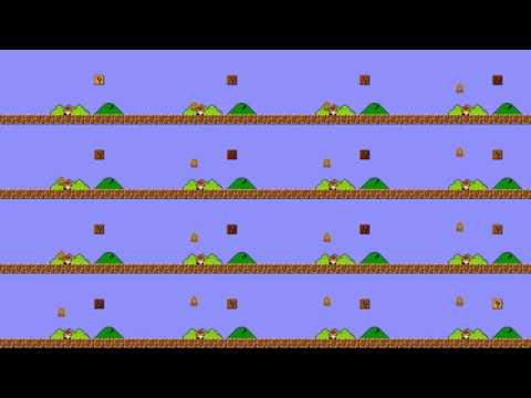 Mario dies 1 million times