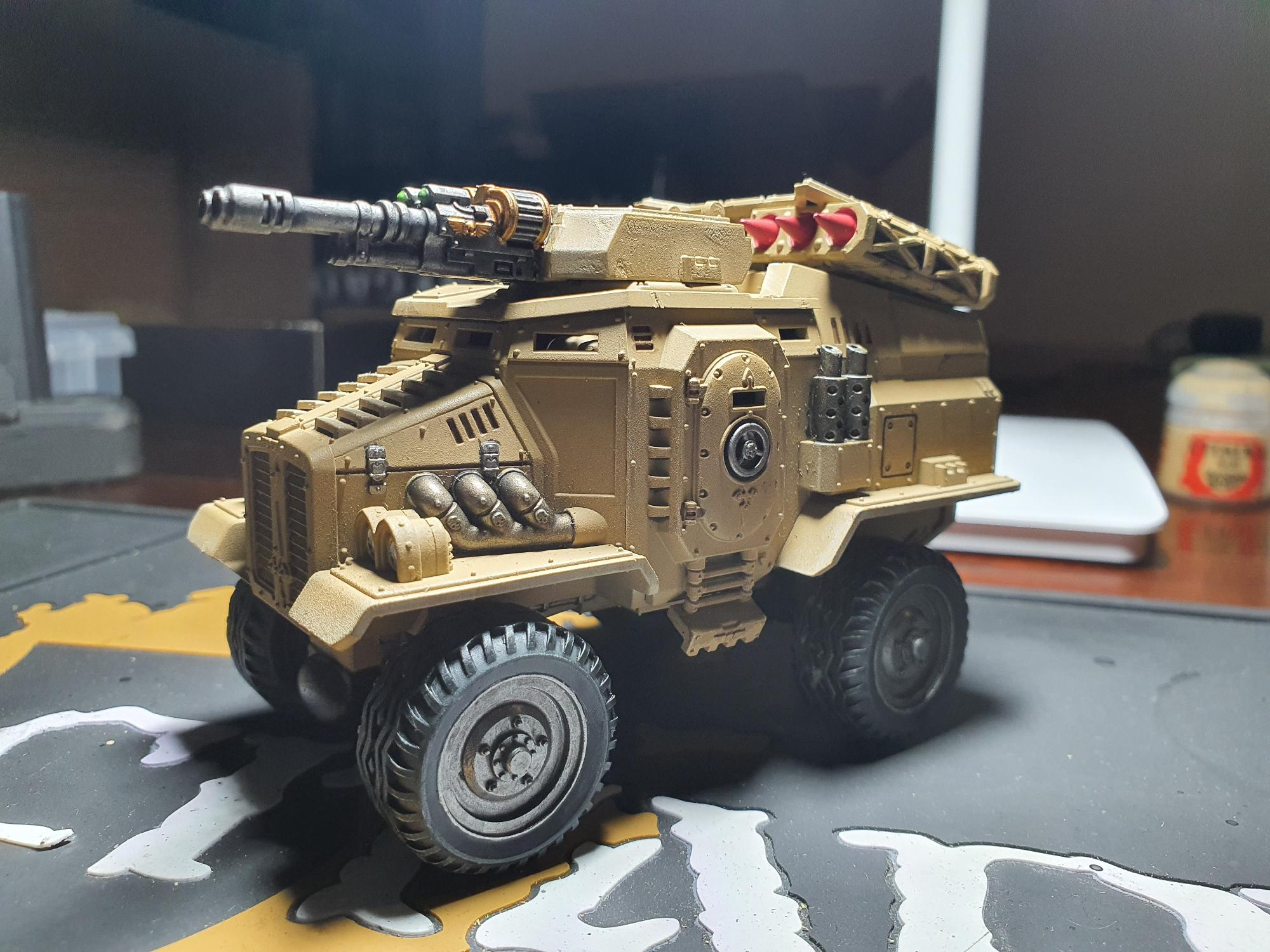 First completed Taurox for the R.V.I.O.R