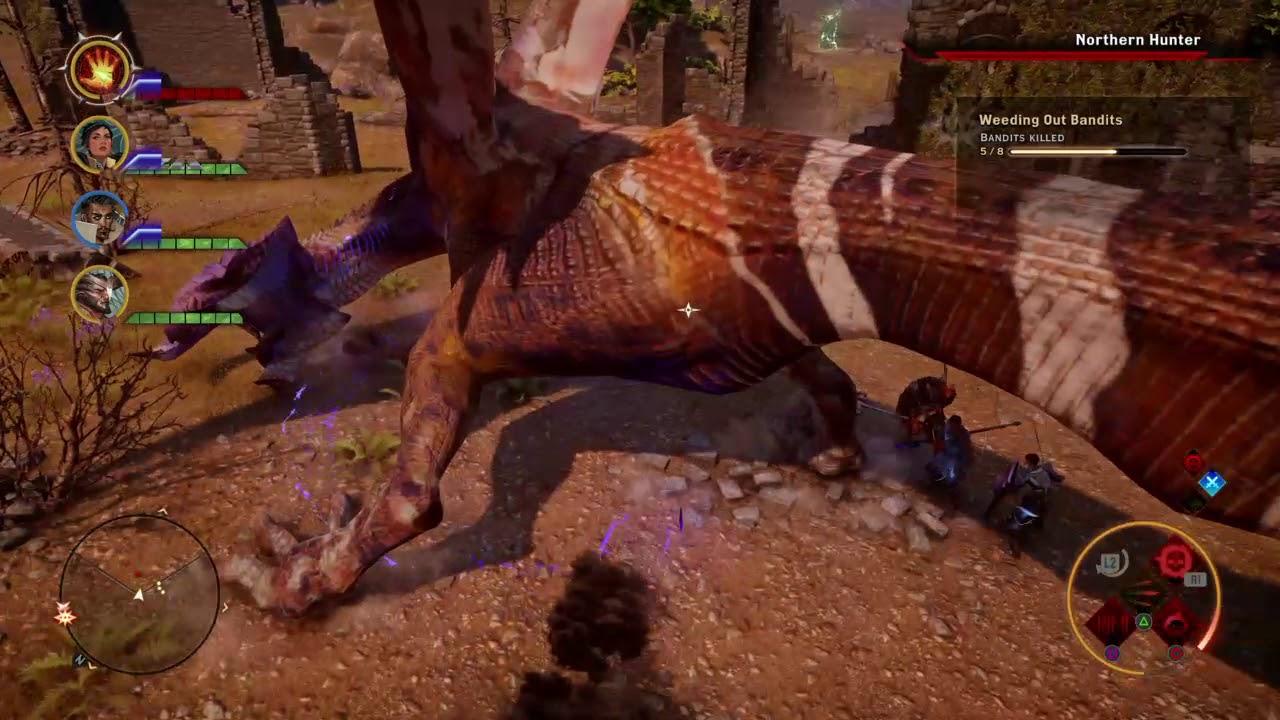 Dragon Age™ Inquisition Assassin Dragon FIght