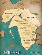 Syrkarn Map