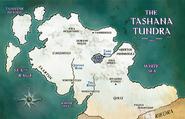 Tashana Tundra Map