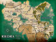 Map of Riedra
