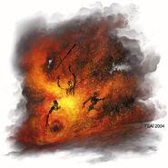 Cinder swarm