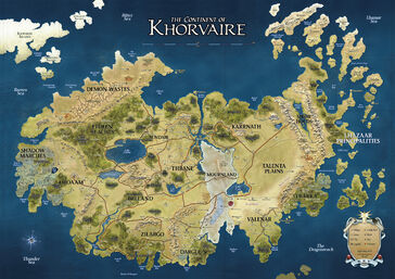 D&D - 4th Edition - Eberron Map Khorvaire.jpg