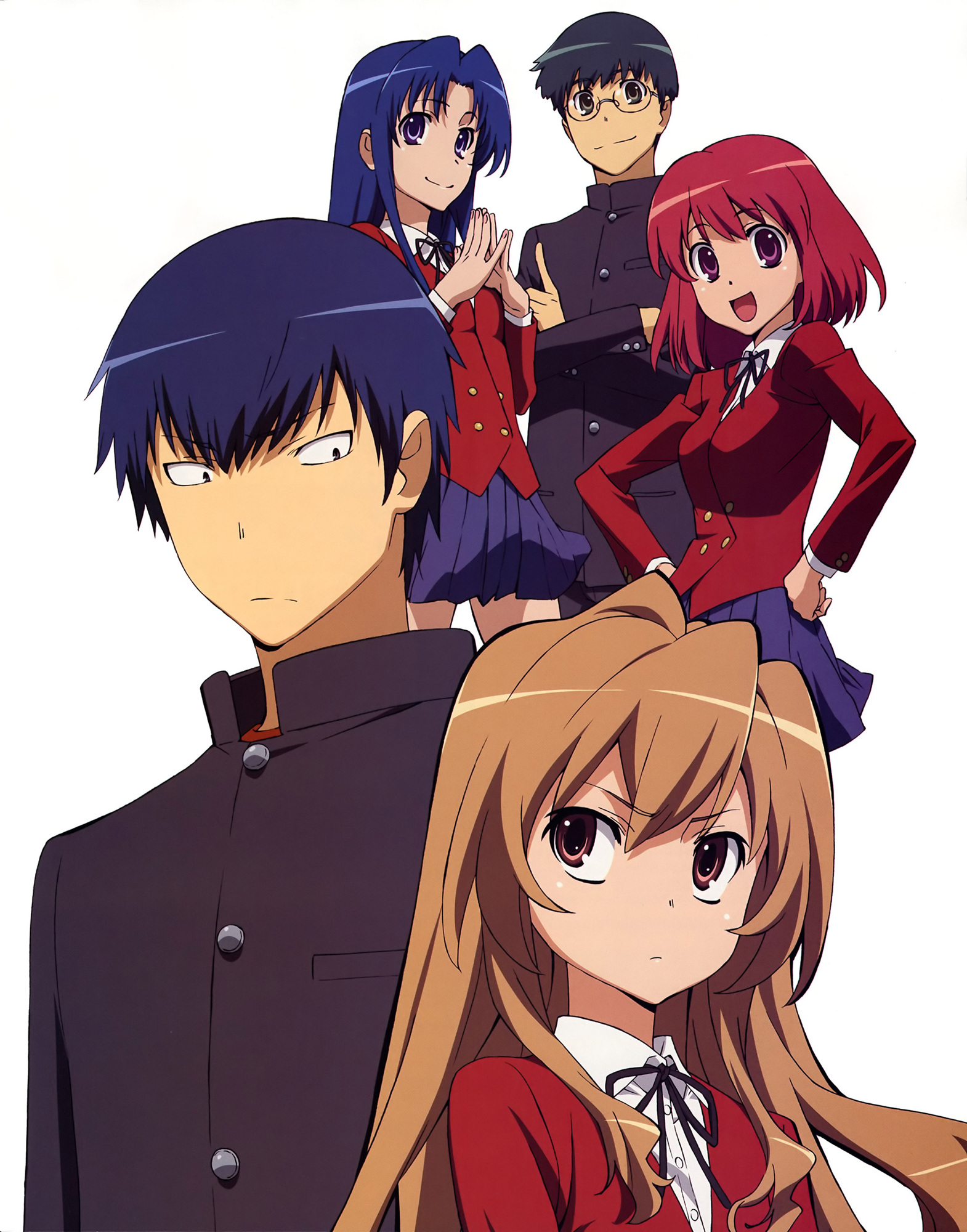 Just finished watching Toradora and let me say this..... Is AMAIZING !!!!! I cried soo much!!