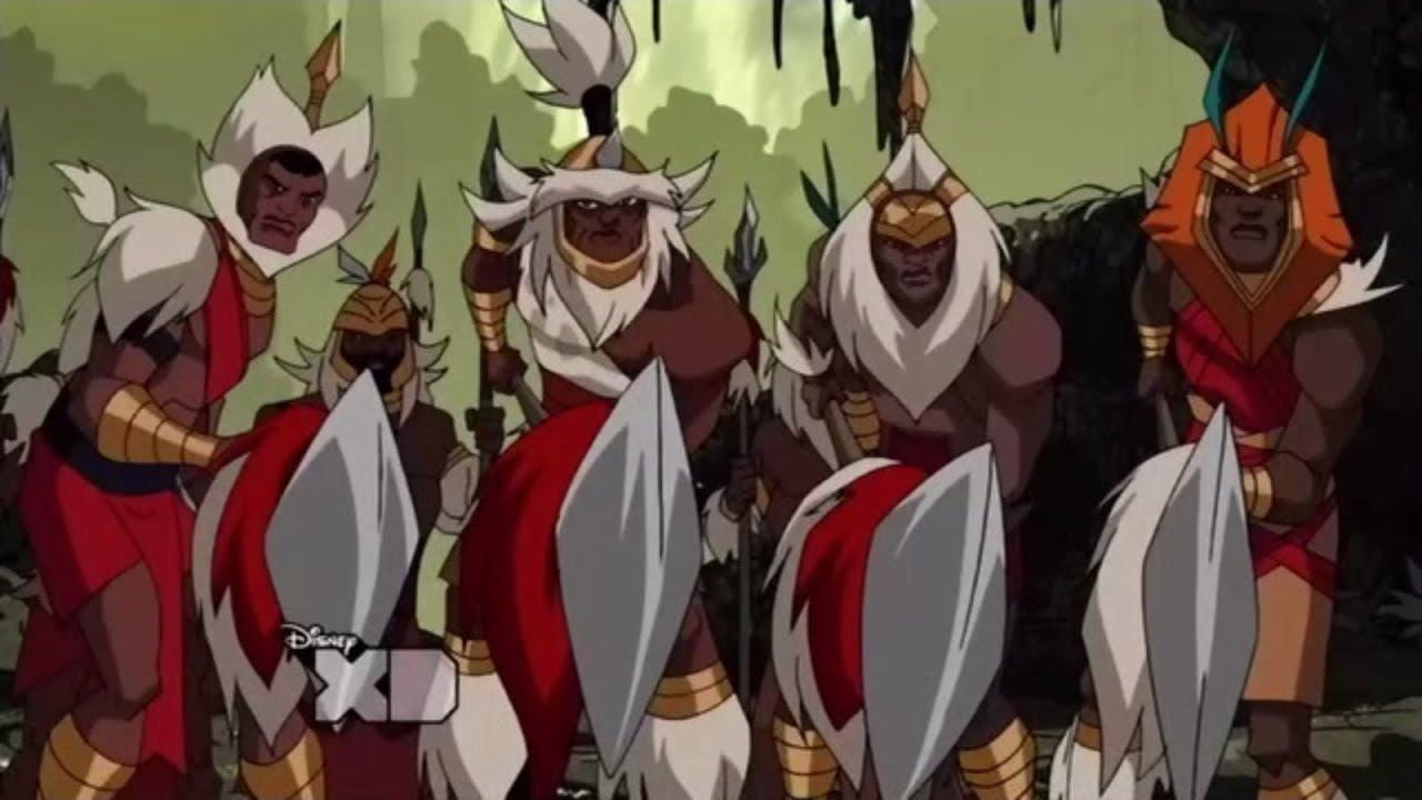 AVENGERS vs the WAKANDAN ARMY | Panther's Rage part 4