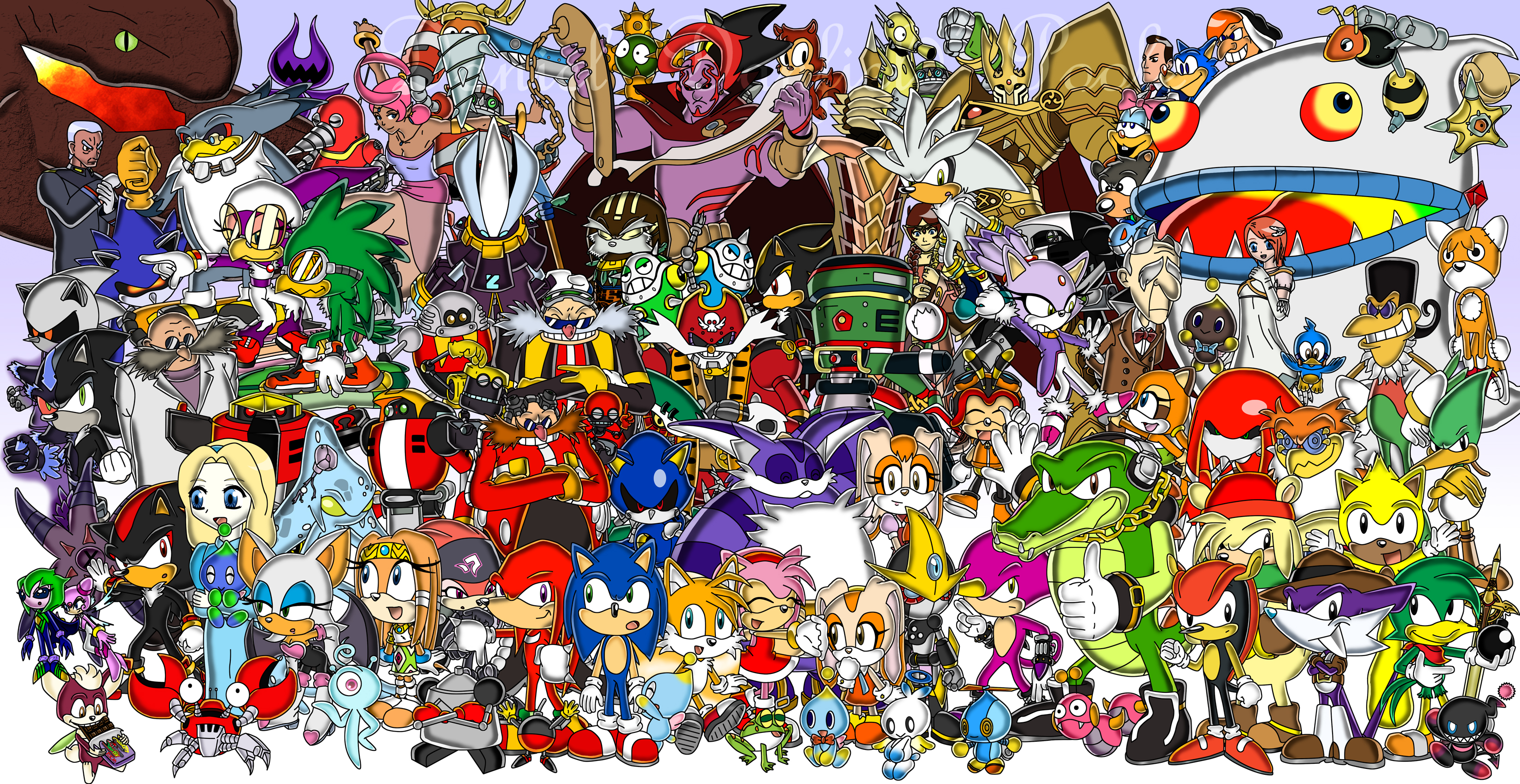 Who Is The Strongest Powerful Sonic Character In History Fandom