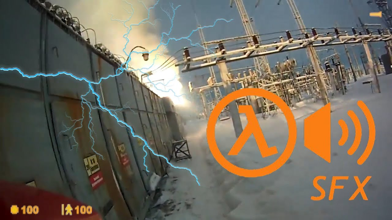 Half-Life SFX: Resonance cascade at russian power plant