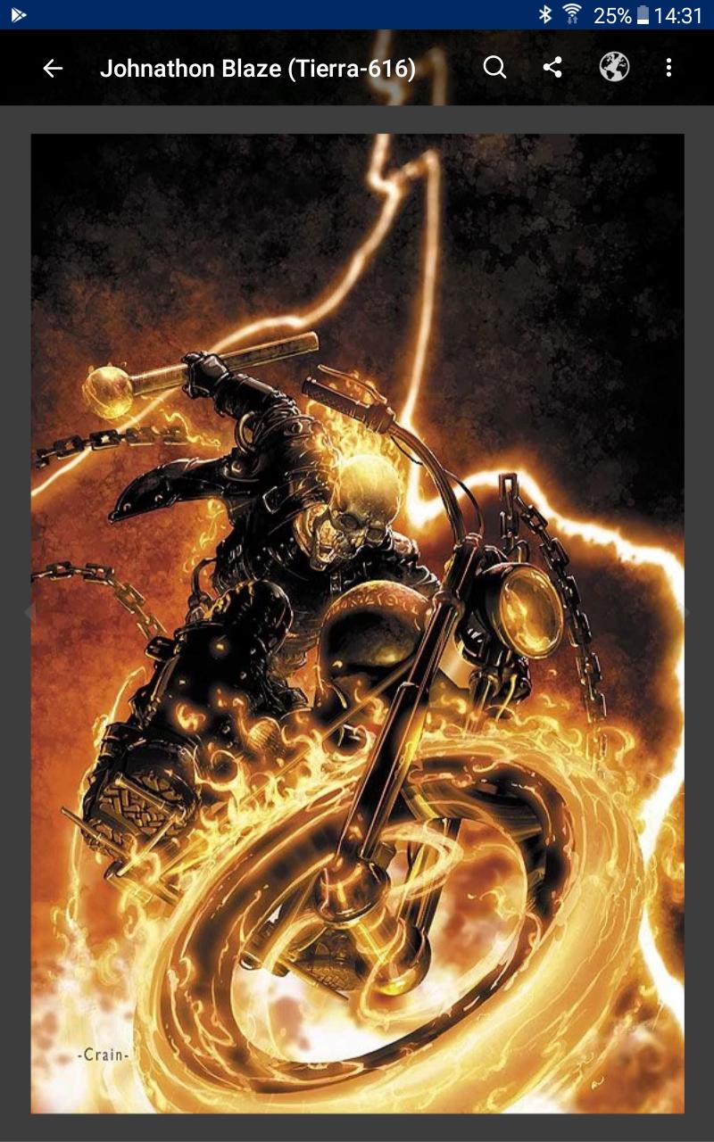 ¿Alguien me puede decir quienes son todos los enemigos de ghost rider?