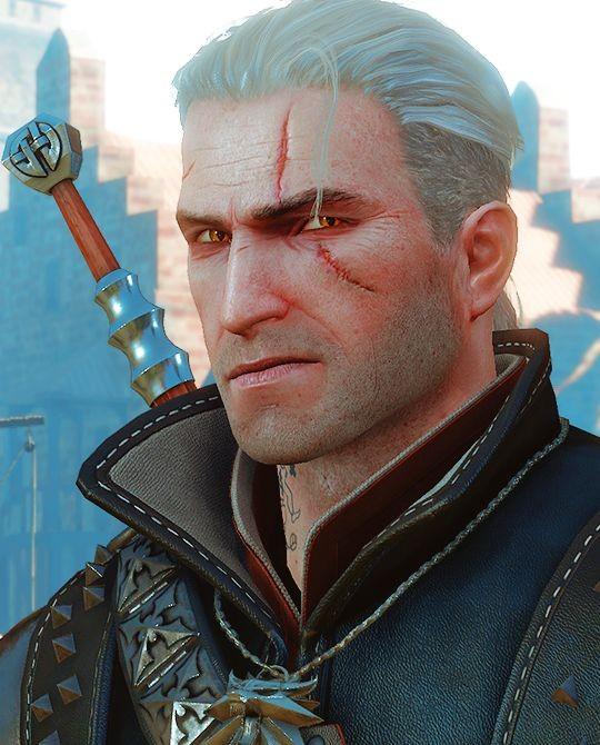 Geralt de Rívia, lobo branco ou carniceiro de Blaviken